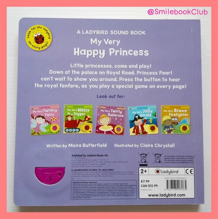 My Very Happy Princess - Sound Book