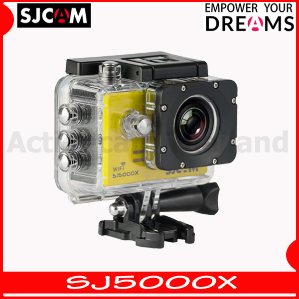 SJCAM SJ5000X Elite WiFi (Yellow) 4K 24fps 2K30fps Gyro