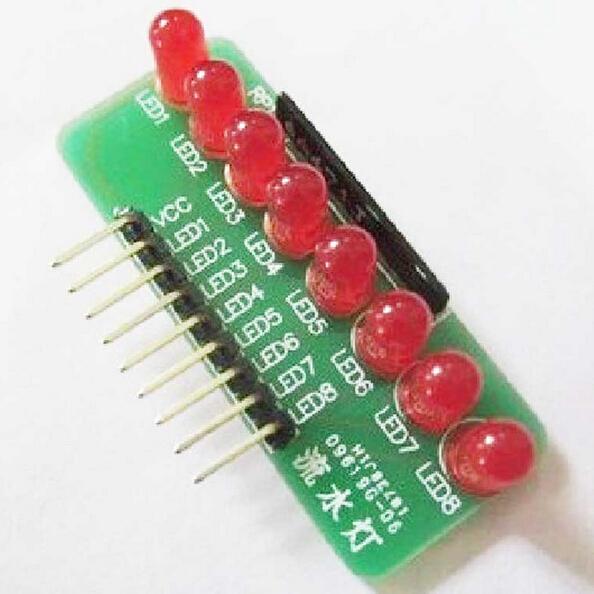 โมดูล LED แสดงสถานะ 8 ดวง 8-way LED module