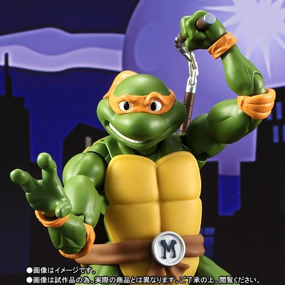 Teenage Mutant Ninja Turtles - Michelangelo - S.H.Figuarts - 1987 (Limited Pre-order)