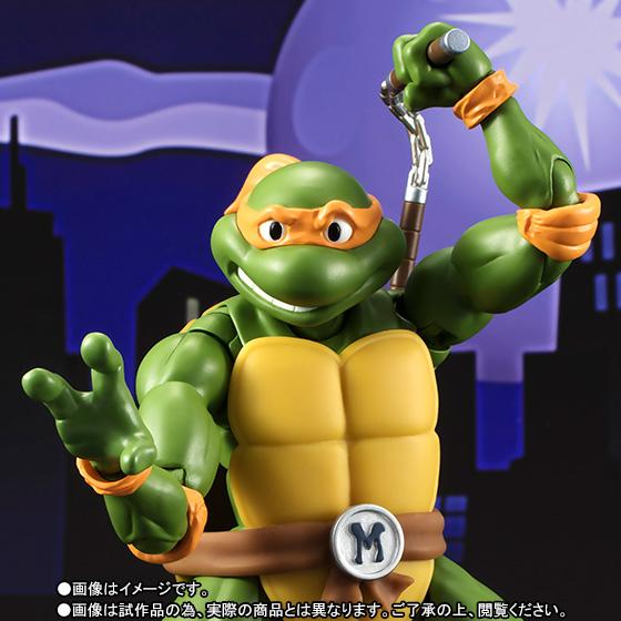 Teenage Mutant Ninja Turtles - Michelangelo - S.H.Figuarts - 1987 (Limited Pre-order)
