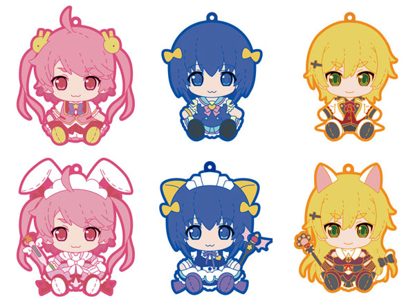 Pulish Nurse Witch Komugi-chan R - Trading Rubber Strap 6Pack BOX(Pre-order)