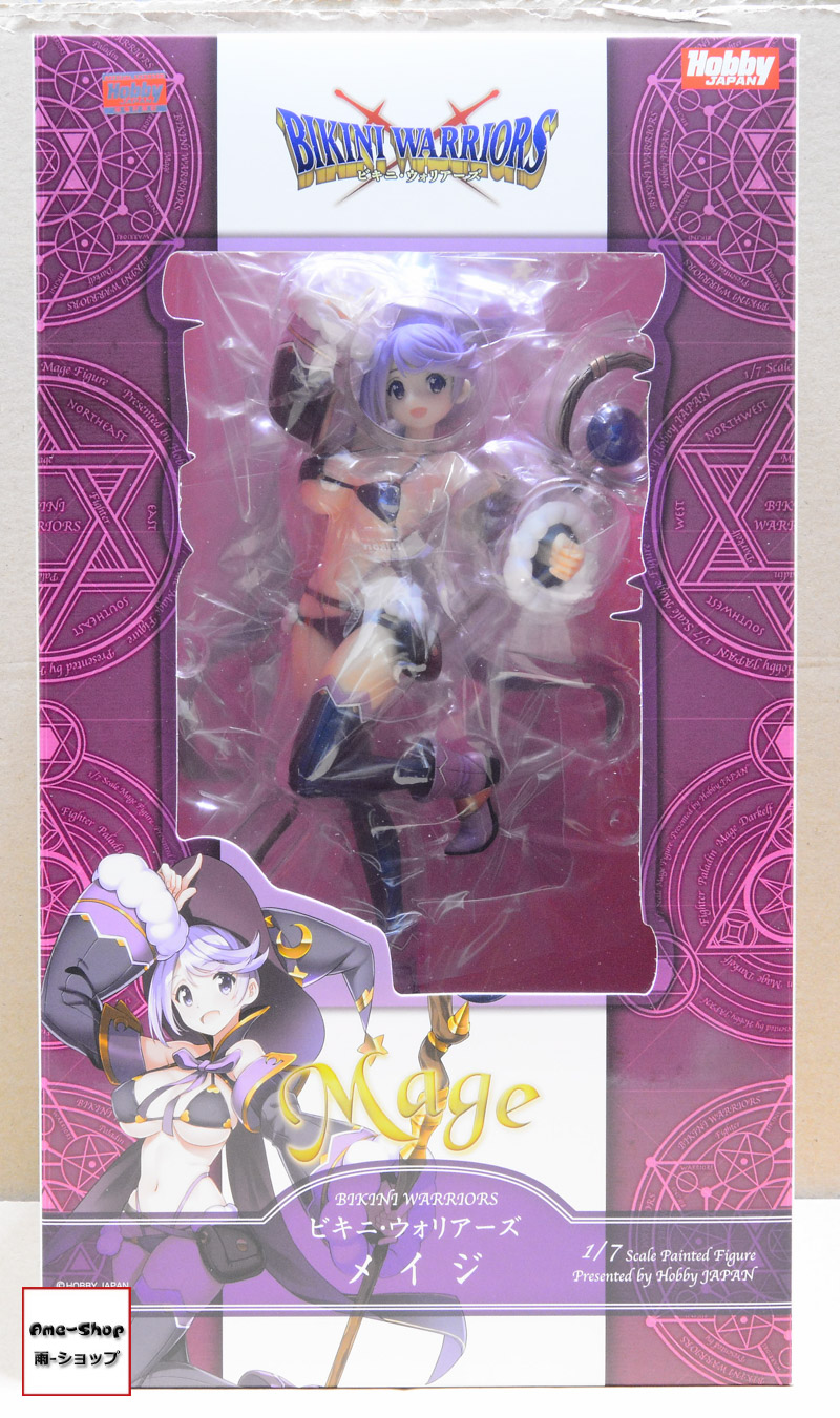 Bikini Warriors - Mage 1/7 PVC figure Limited Version (2 Sided Cloth Poster:A3size)
