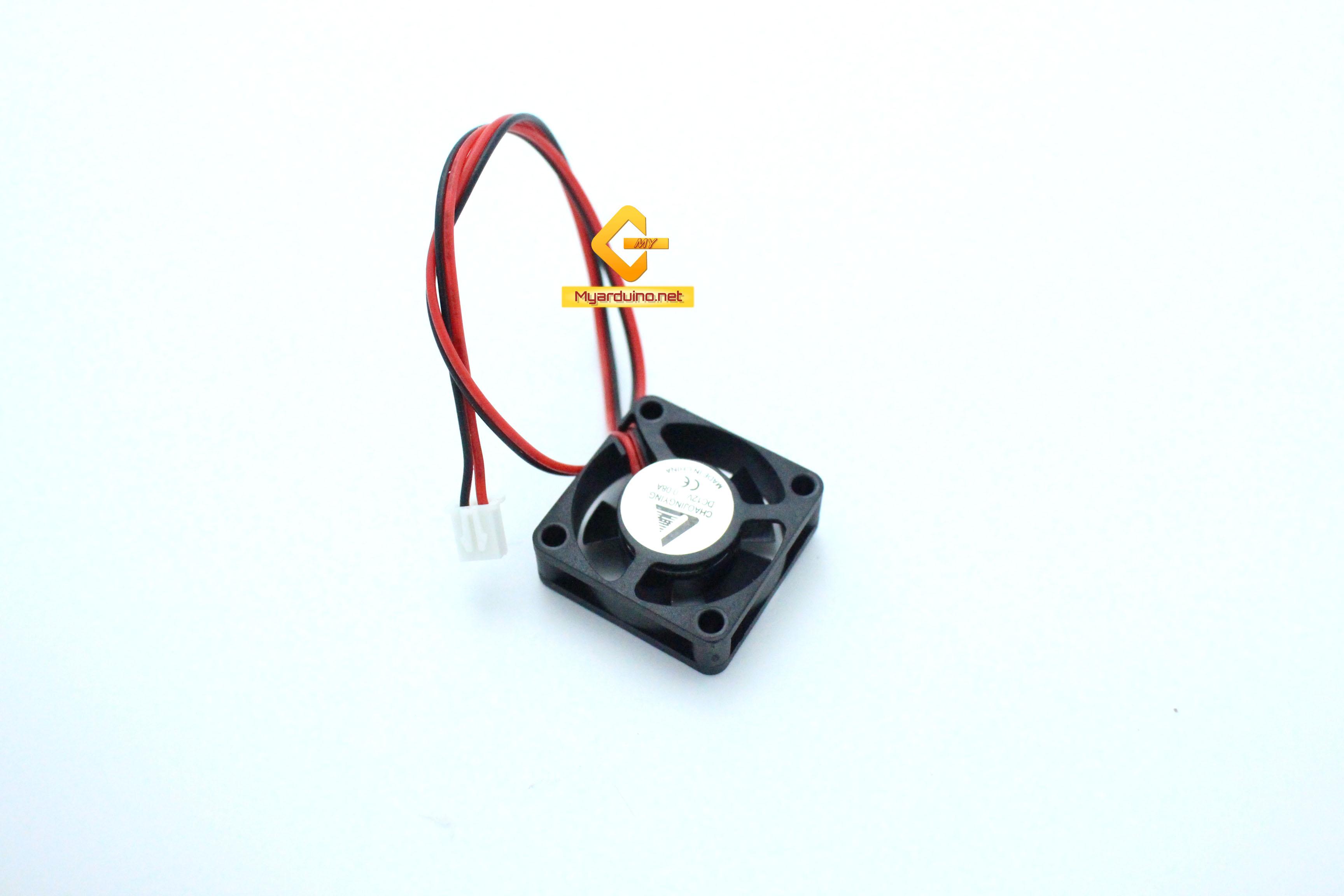 พัดลมระบายความร้อน 2สาย 3cm*3cm 5V