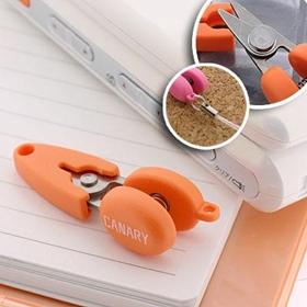ที่ห้อยพวงกุญแจกรรไกรขนาดจิ๋ว Mini Scissor (Orange)