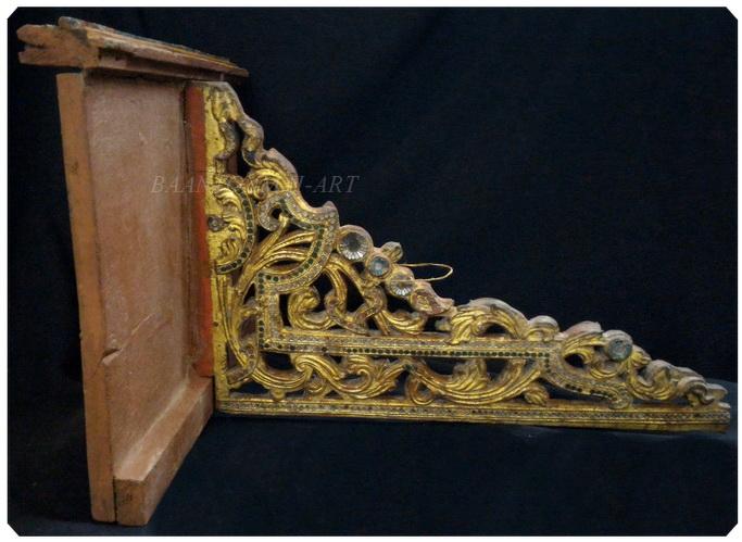 หิ้งพระศิลปะพม่า งานเก่า