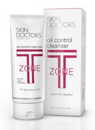 SKIN DOCTORS T-zone oil control cleanser [150ml] โฟมล้างหน้าลดผิวมันบริเวณ T-Zone และกระชับรูขุมขน