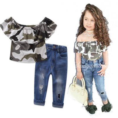 ID371- เสื้อ+กางเกง 6 ชุด /แพค ไซส์ 90-140