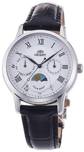 นาฬิกาผู้หญิง Orient รุ่น RA-KA0006S00C, Quartz Classic Sun & Moon Japan Women's Watch