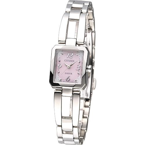 นาฬิกาข้อมือผู้หญิง Citizen Eco-Drive รุ่น EW5460-50X, WICCA Analog Dress