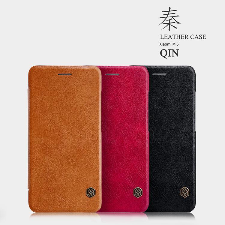 เคส Xiaomi Mi 6 NILLKIN Qin Leather Case