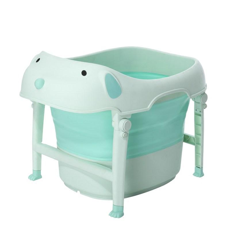อ่างอาบน้ำหมาน้อย แบบพับได้ Baby Bath Puppy