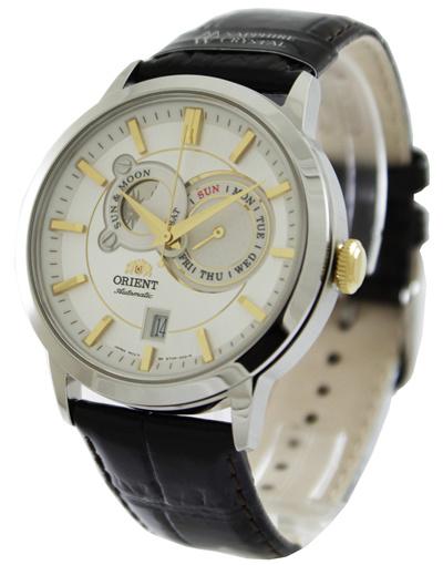 นาฬิกาผู้ชาย Orient รุ่น FET0P004W0, Automatic Sun And Moon