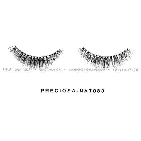 PRECIOSA EYELASH รุ่น NATURAL CLEAR (NAT080)