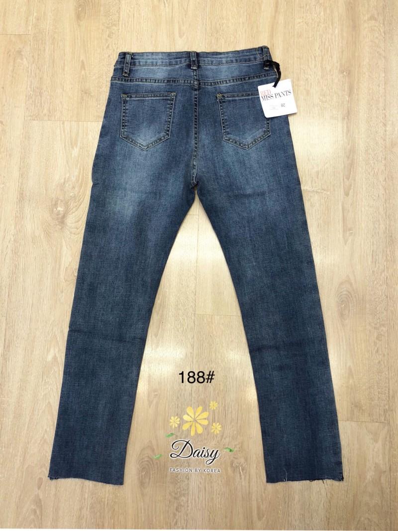 เสื้อผ้าแฟชั่นเกาหลี สินค้าพร้อมส่งงานไซส์ใหญ่ the best comfortable jeans by Hong kong