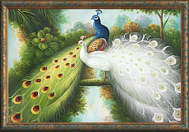 Peacock Lovers (พิมพ์ลาย)
