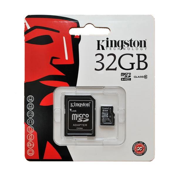 MICRO SD CARD CLASS 10 32 GB