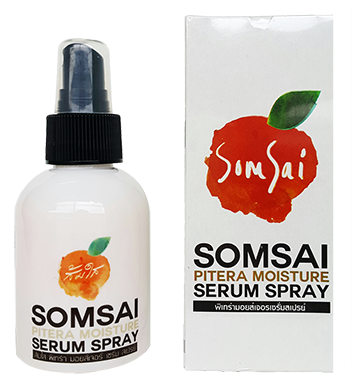 Somsai Pitera Moisture Serum Spray ส้มใสพิเทร่า มอยส์เจอร์เซรั่ม สเปรย์ 100g.