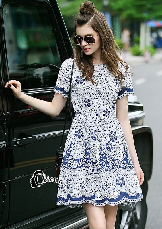 Cliona Made' Summers Love Luxury Lace Dress