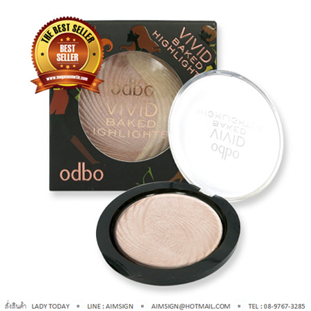 ODBO VIVID BAKED HIGHLIGHTER NO.106 : 02