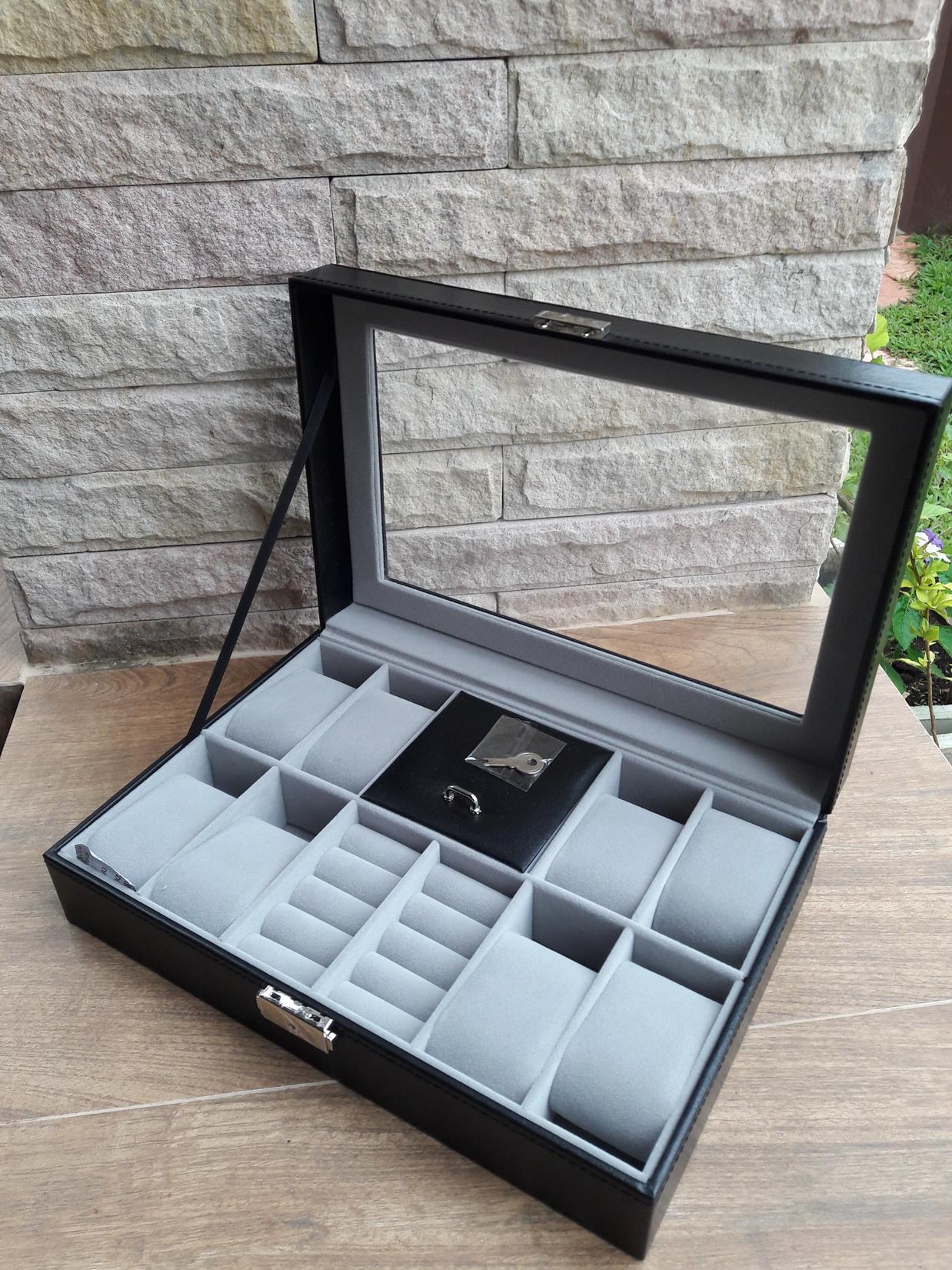 กล่องเก็บนาฬิกา แบบ3in1