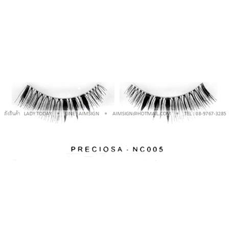 PRECIOSA EYELASH รุ่น NATURAL CLEAR (NC005)