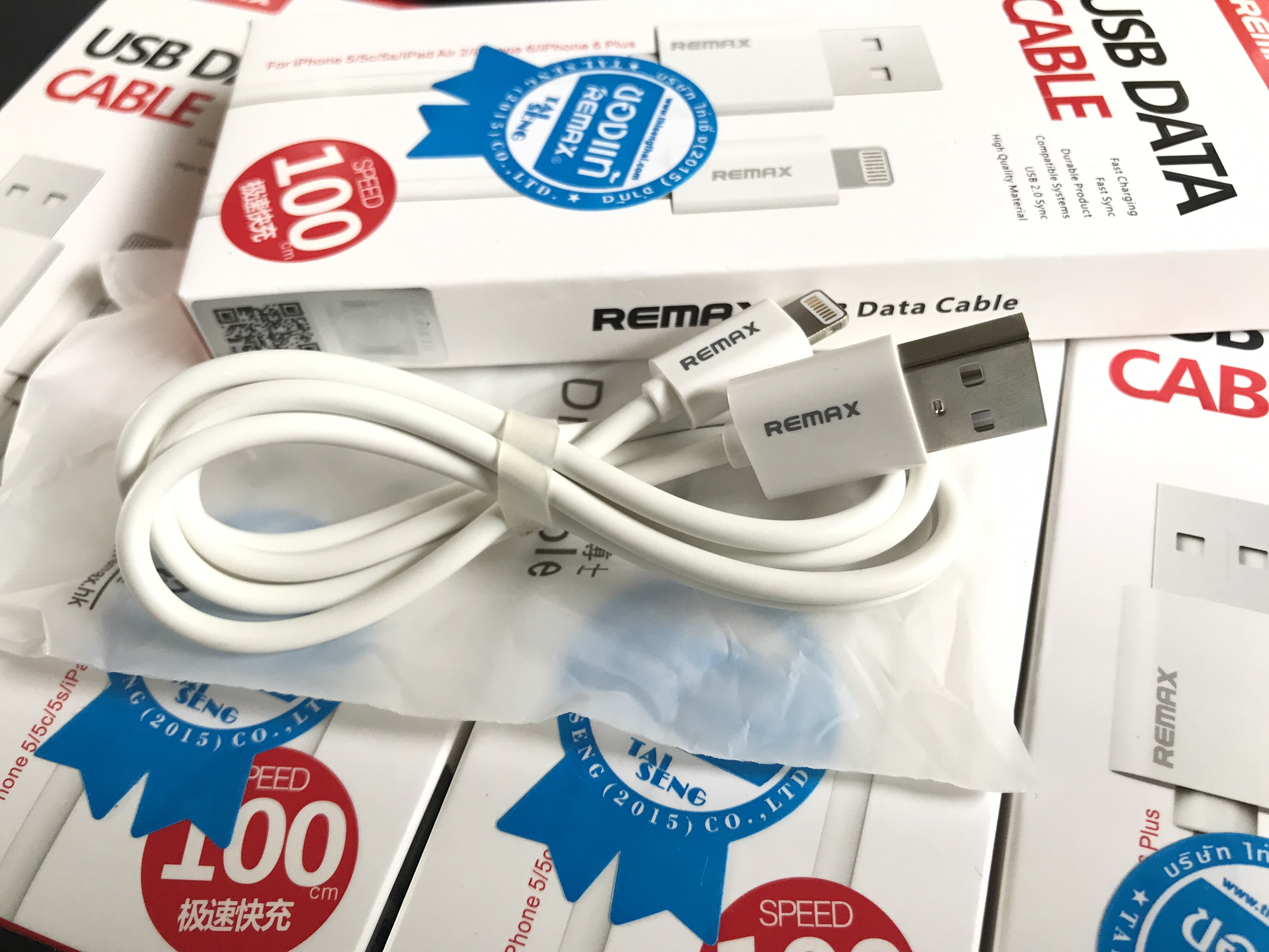 สายชาร์จ iPhone Remax Speed Charging