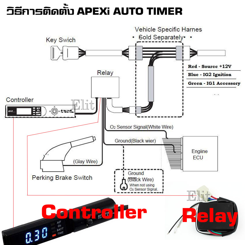 Excellent Hks Turbo Timer Wires Pictures Inspiration - Electrical ...
