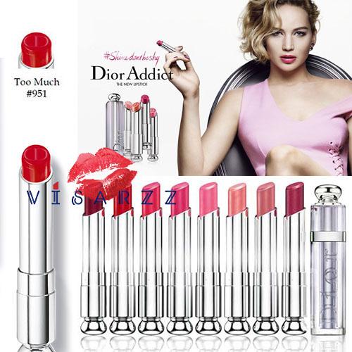(Tester ฝาขาว No Box) Dior Addict Lipstick 3.5g # 951 Too Much สินค้าขนาดปกติ