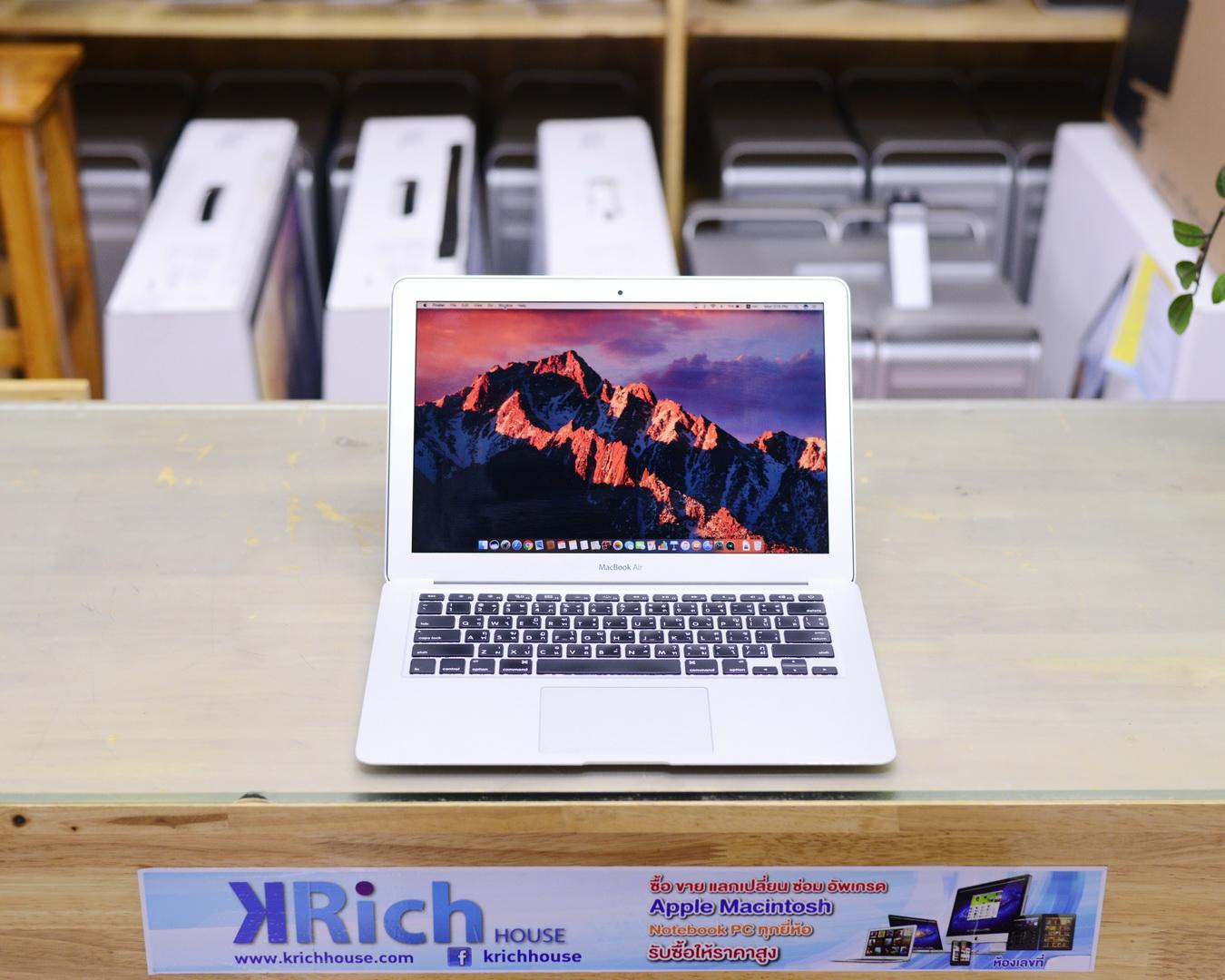 MacBook Air (13-inch, Mid 2013) - Core i5 1.3GHz RAM 4GB SSD 128GB