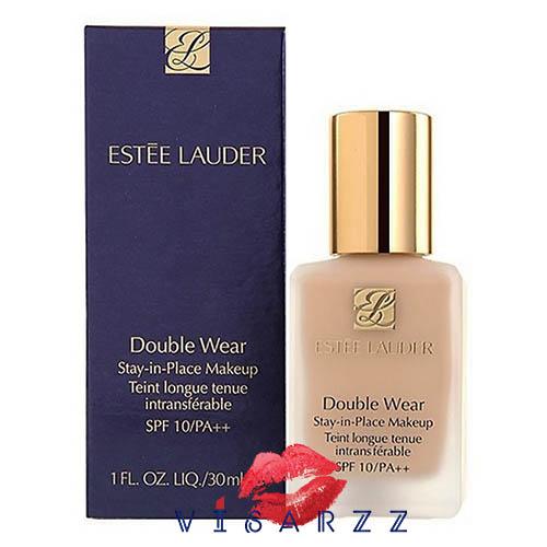 (#Warm Vanilla ลดมากกว่า 35%) Estee Lauder Double Wear Stay-in-Place Makeup SPF10/PA++ 30 mL # 2W0 Warm Vanilla ผิวขาวปานกลาง รองพื้นที่ติดทนนานตลอดวัน