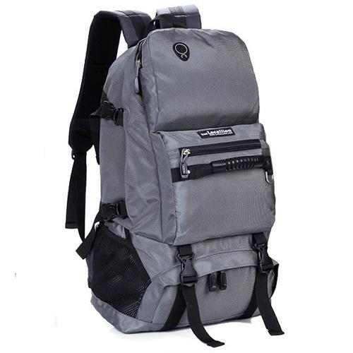 NL21 กระเป๋าเดินทาง สีเทา ขนาดจุสัมภาระ 40 ลิตร สำเนา