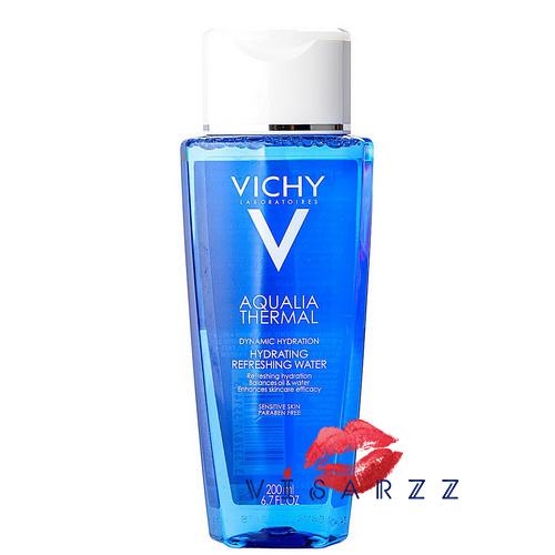 (Exp.04/18) Vichy Aqualia Thermal Hydrating Refreshing Water 200mL โทนเนอร์ปรับสภาพผิว สำหรับผิวธรรมดาถึงผิวผสมที่บอบบาง แพ้ง่าย