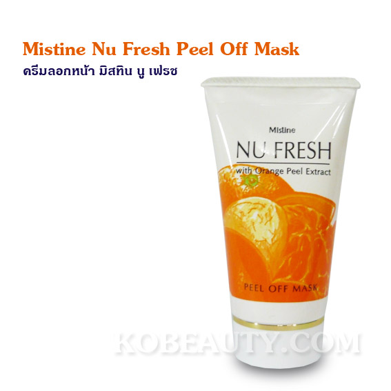 Mistine Nu Fresh Peel Off Mask / ครีมลอกหน้า มิสทิน นู เฟรช