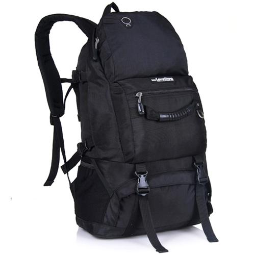 NL21 กระเป๋าเดินทาง สีดำ ขนาดจุสัมภาระ 40 ลิตร