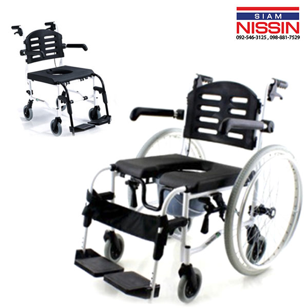 รถเข็นอาบน้ำเเละนั่งถ่าย Wheelchair Comfort รุ่น SL-155