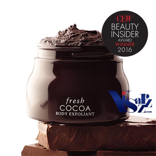 ลดพิเศษ 30% Fresh Cocoa Body Exfloliant 240g ผลิตภัณฑ์ขัดผิวกายเพื่อเผยผิวที่นุ่มนวล ด้วยส่วนผสมของเมล็ดโกโก้บดและ โกโก้ บัทเทอร์ เนื้อผลิตภัณฑ์ที่มีสัมผัสนุ่มนวลดุจดังกำมะหยี่ พร้อมกลิ่นหอมอันน่าหลงใหล