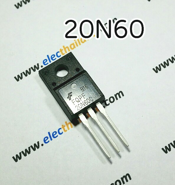 T142:20N60 20A 600V N-Channel Power Mosfet