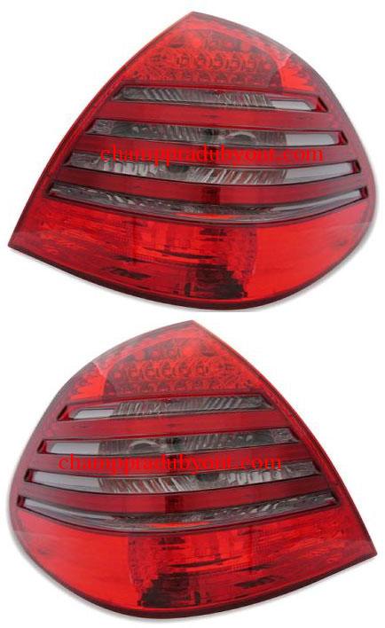 ไฟท้าย BENZ E-CLASS W211 03-09 SMOKE แดง LED