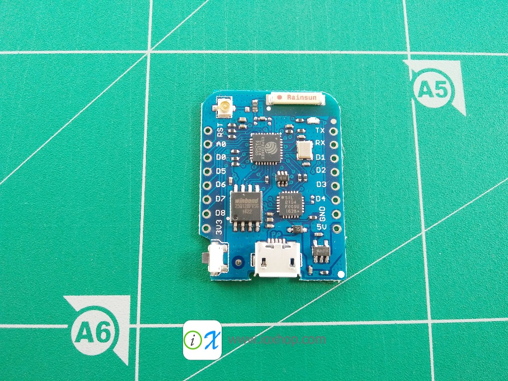 WeMos D1 mini Pro V1.1.0 16MB flash WiFi Lua IoT mini nodemcu ESP8266