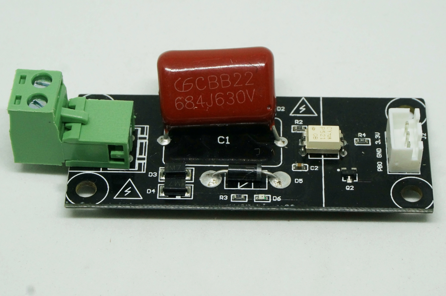 Power outage detecting module