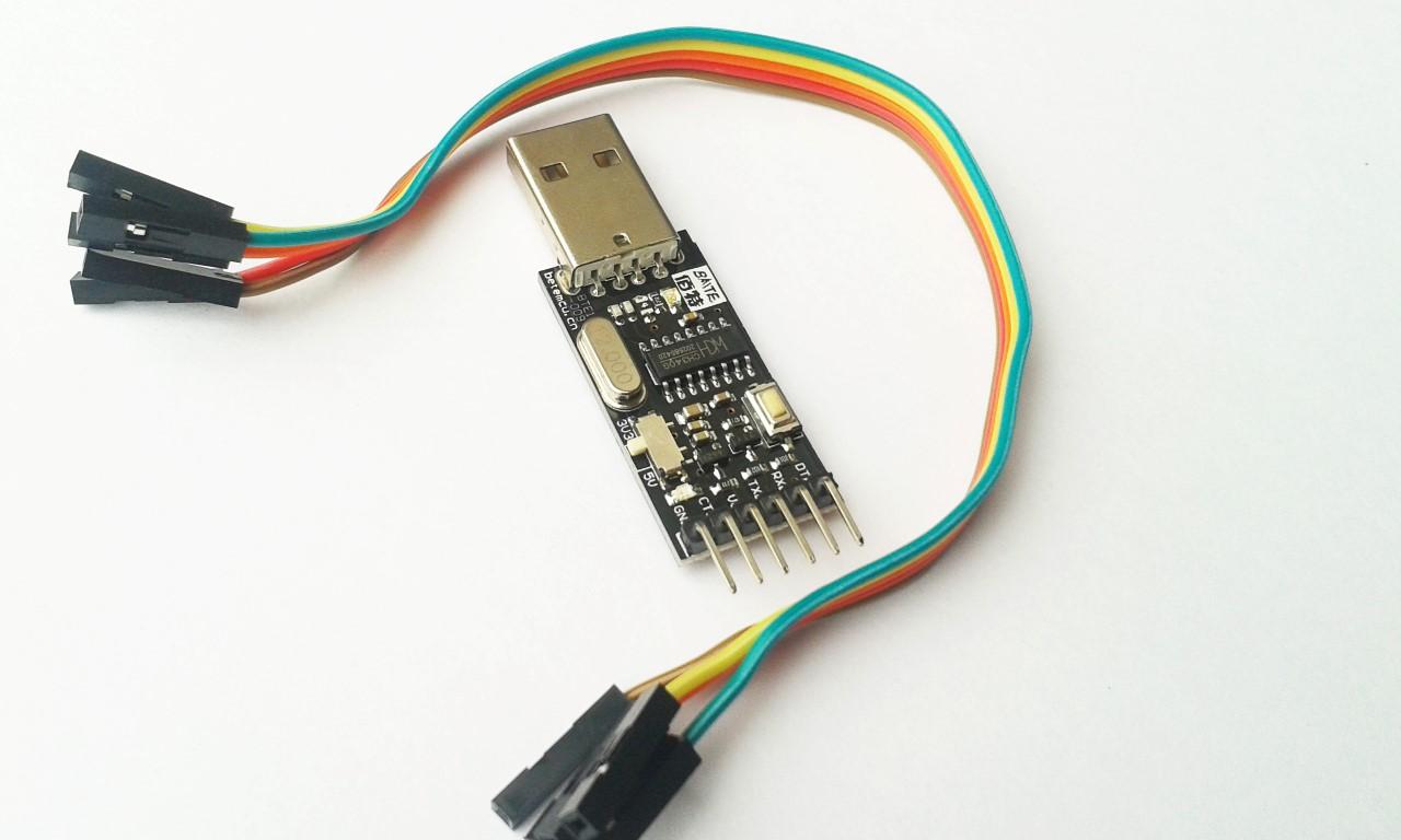 โมดูลแปลง USB เป็น UART เลือกแรงดันได้