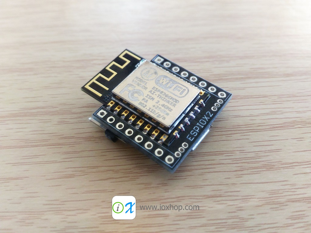 ESPIOX2 ESP8266 Development Board