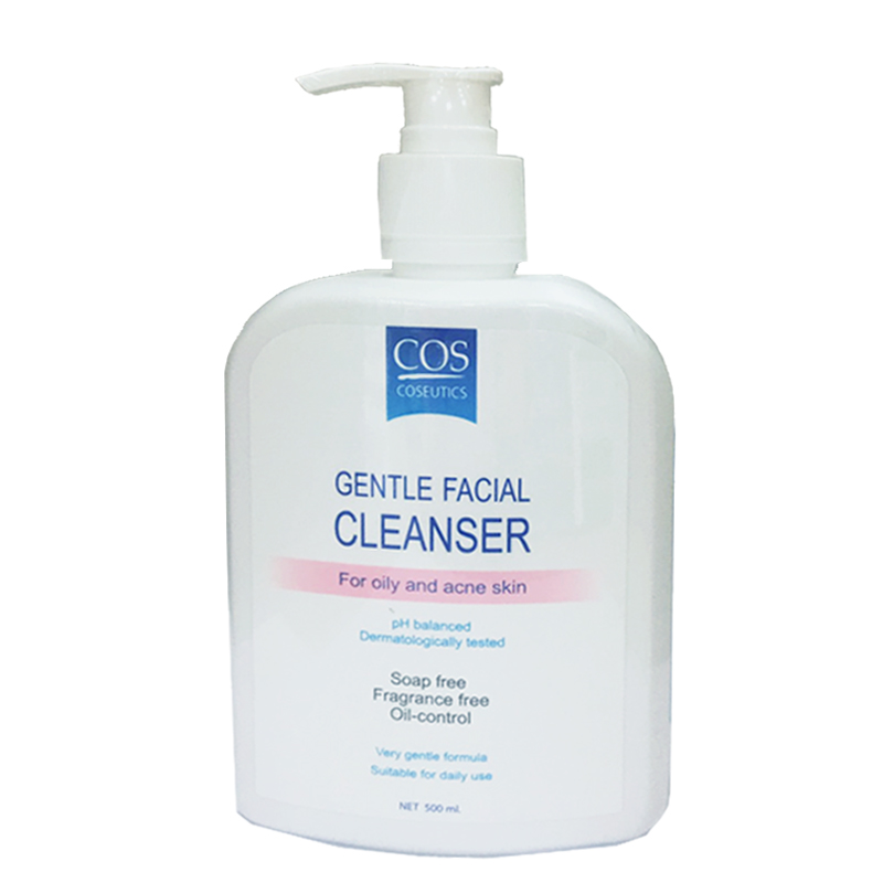 COS Gentle facial cleanser - oily 500ml