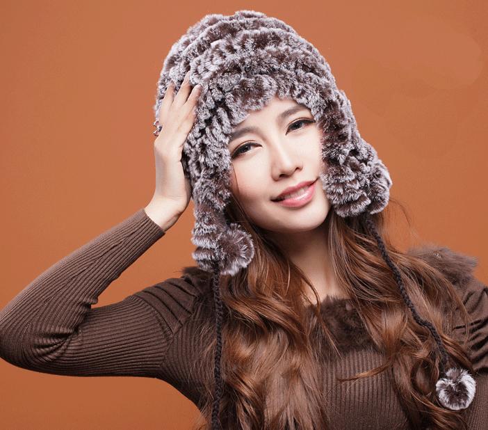 Pre-Order หมวกกันหนาวสไตล์สาวรัชเซียขนกระต่ายแร็กซ์**แท้ **สินค้าPre-Order เปิดรับอีกครั้งวันที่ 1 กพ.60 ( ติดเทศกาลตรุษจีน ) ได้สินค้าประมาณต้นเดือนมีนาคม 60