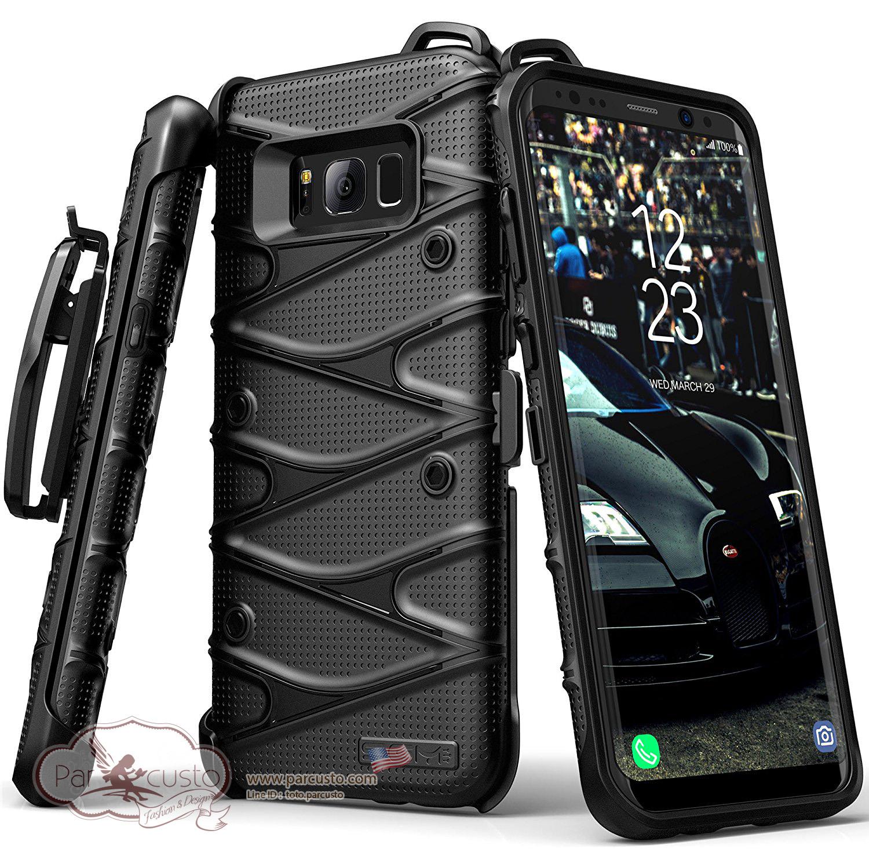 เคสกันกระแทก Samsung Galaxy S8 [Hybrid Dual Layer] จาก SGM [Pre-order USA]