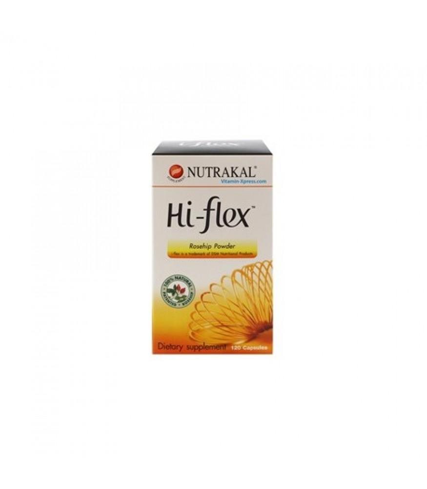 NUTRAKAL HI-FLEX 3x120s นูทราแคล ไฮ-เฟล็กซ์ (120 แคปซูล) x 3 กล่อง สำเนา