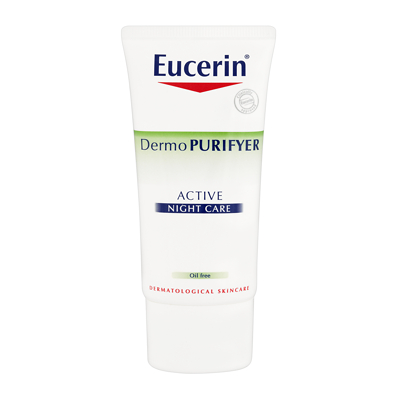 EUCERIN DERMOPURIFYER ACTIVE NIGHT CARE 50 ML สำเนา