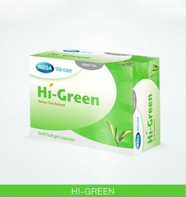 Hi-Green Green Tea Extract 30's*3