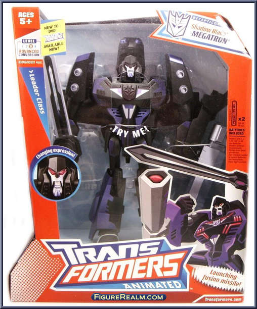 Transformers Animated Leaderclass Shadow Blade Megatron HASBRO Rare Item NEW